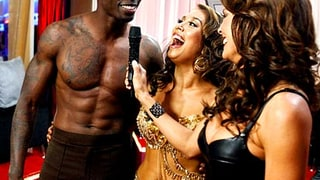 Cheryl Burke, Brooke Burke, and Chad Ochocinco