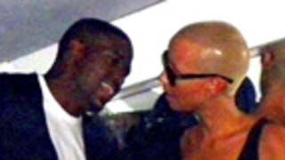 Source: Kanye West, Amber Rose Taking a Break