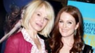 Ellen Barkin and Julianne Moore Hang out in NYC