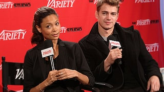 Thandie Newton and Hayden Christensen
