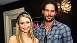 Katrina Bowden, Joe Manganiello Goof Off at the Nintendo DSi Studio