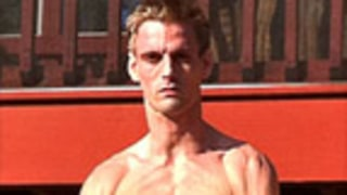 Is Aaron Carter's Ripped Bod Sexy or Scary?