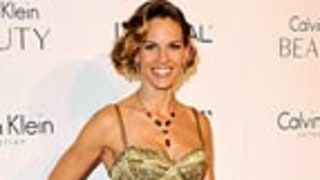 Oops! Hilary Swank's Hairy Red Carpet Blunder