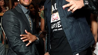 Chris Brown and Omarion