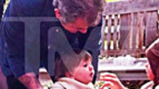 FIRST PICS: See Mel Gibson With Adorable Daughter, 13 Months