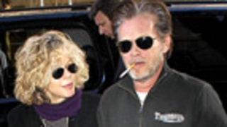 PIC: New Couple John Mellencamp, Meg Ryan Step Out
