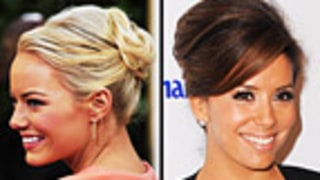 4 Golden Globes Updos Worth Talking About