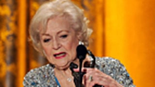 Betty White Wins First SAG Award at 89