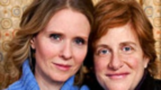 PIC: Cynthia Nixon Shows Off Her 1- Week Old Son!