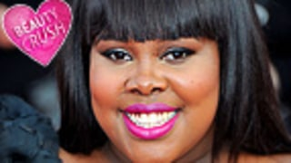Beauty Crush: Amber Riley's Hot Pink Lips