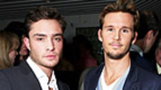 Ed Westwick, Ryan Kwanten Party Together in West Hollywood