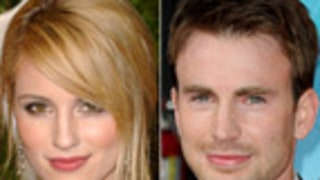 Dianna Agron Flirts With Chris Evans After Ugly Alex Pettyfer Split