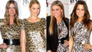 Who Wore It Best -- 4 Stars Face Off at Same Bash!