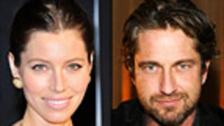 Newly Single Jessica Biel Flirts With Gerard Butler