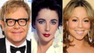 Elton John, Mariah Carey Pay Tribute to Elizabeth Taylor
