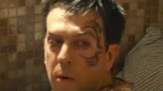 Ed Helms Gets Face Tattoo in Hangover 2