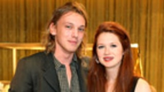 Harry Potter's Jamie Campbell Bower, Bonnie Wright Engaged!