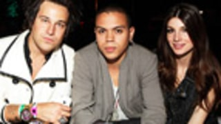 Ryan Cabrera, Evan Ross Sip VnC Cocktails at Coachella