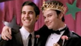 Glee's Kurt Hummel Crowned Prom Queen