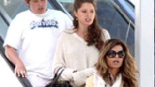 Somber Maria Shriver and Kids Step Out