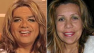 George Lopez Does Drag as Alleged Arnold Mistress Mildred Baena