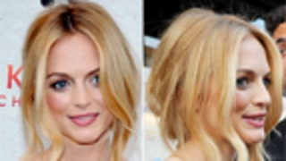 Beauty Crush: Heather Graham's Tucked-Under 'Do
