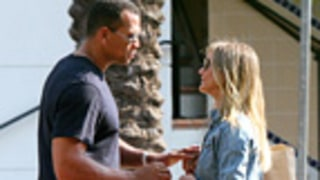 Affectionate Cameron Diaz, Alex Rodriguez Squash Split Talk