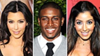 Reggie Bush Dating Kim Kardashian Lookalike from Old Navy Ad