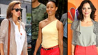 Hollywood Trend Watch: Red-Hot Pants
