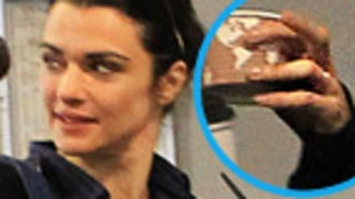 PIC: Rachel Weisz Shows Off Wedding Ring