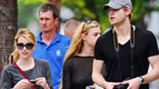 Emma Roberts and Chord Overstreet Take Romance Public