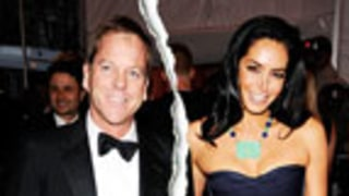 Kiefer Sutherland Splits With Longtime Love Siobhan Bonnouvrier