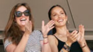 Minka Kelly Cheers for Derek Jeter's 3000th Hit
