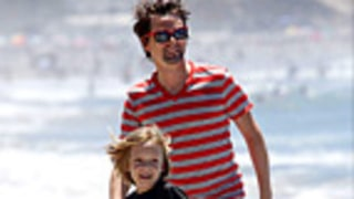 PIC: New Dad Matt Bellamy Hits Beach With Ryder, 7