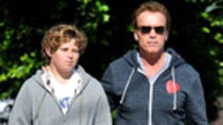 Report: Christopher Schwarzenegger, 13, in ICU After Surfing Accident