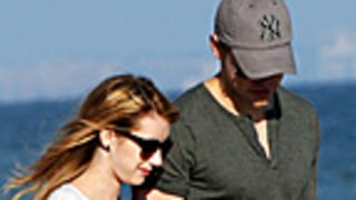 PIC: Emma Roberts and Chord Overstreet Hold Hands on the Beach