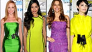 Who Was Best-Dressed in Brights?