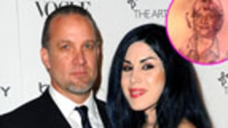 Kat von D Got Tattoo of Jesse James' Face Pre-Split
