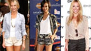 Hollywood Trend Watch: Dressed-Up Shorts