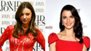 Which Star Wowed in Red Last Night: Miranda Kerr or Rachel Weisz?