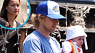 NEW PIC: Owen Wilson, Girlfriend Show Off Adorable Son Ford, 9 Months