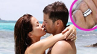 Bikini-Clad Brooke Burke Flashes Wedding Ring During Sexy Honeymoon