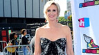 Jane Lynch Steps Out in Glam Strapless Gown!