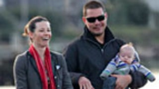 NEW PIC: Evangeline Lilly Bonds With Newborn Son