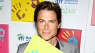 Rob Lowe Leaves an Impression at Valspar Hands for Habitat Launch!