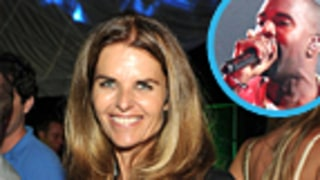 Maria Shriver Rocks Out to Kanye West
