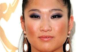 Jenna Ushkowitz's Smoky Purple Eye