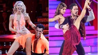 Stacy Keibler Offers Elisabetta Canalis DWTS Advice