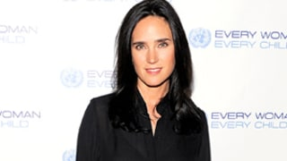 Jennifer Connelly Debuts Post-Baby Bod in Sheer Top, Bra