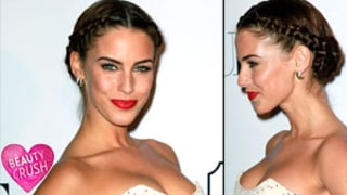 Beauty Crush: Jessica Lowndes' Braided Hairstyle and Red Lips